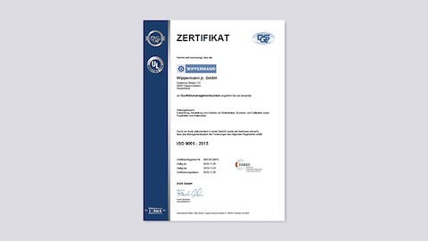 Quality Management System ISO 9001:2015 / 2016-11-30