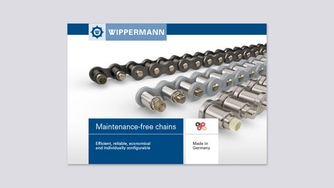 Brochure Maintenance-free chains