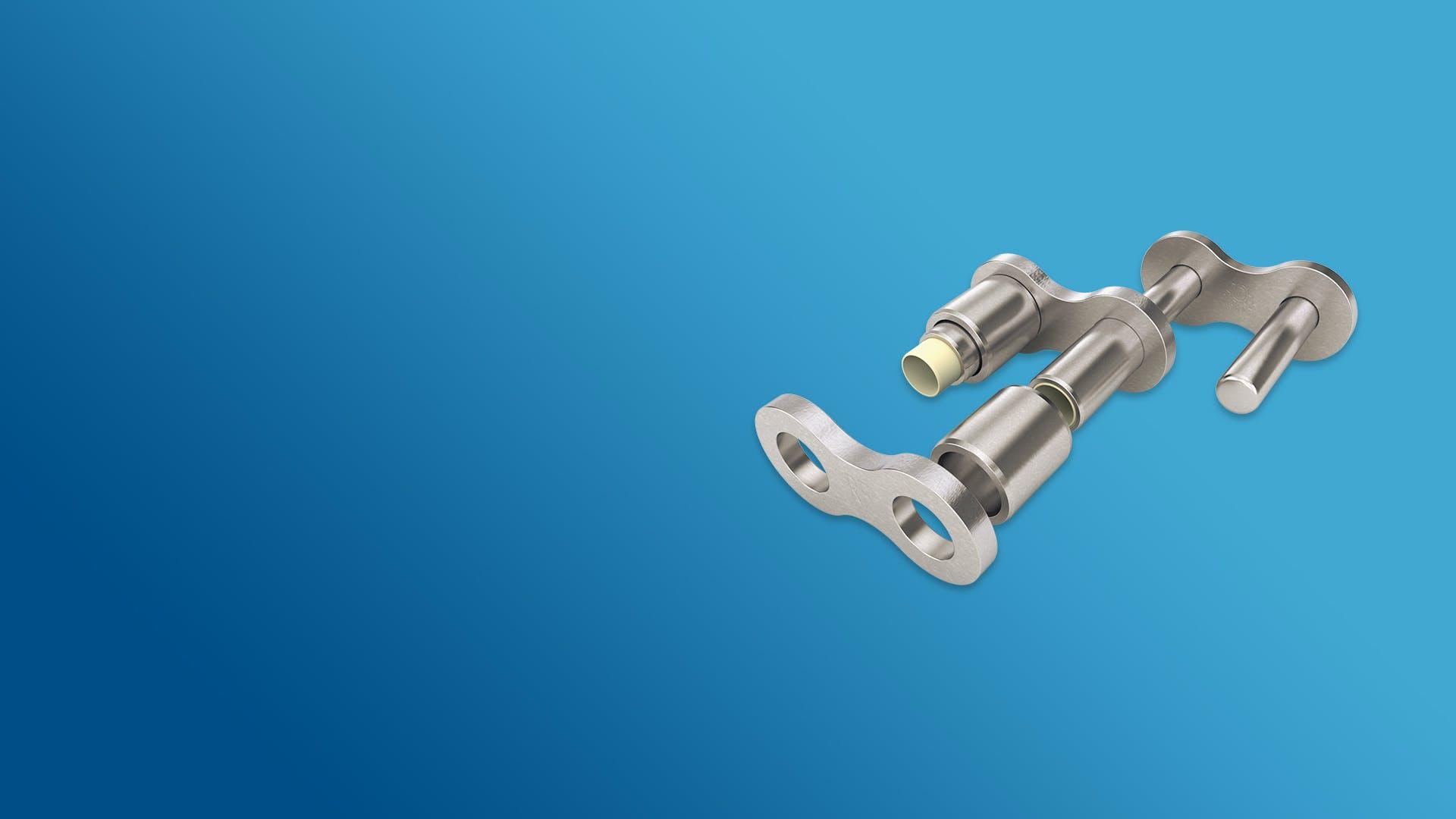 [Translate to English:] Trigleit II Polymer Gleitlager