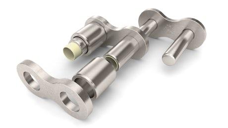 Hochleistungs-Polymer-Gleitlager TRIGLEIT II