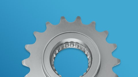 Special sprockets according to customers' specifications