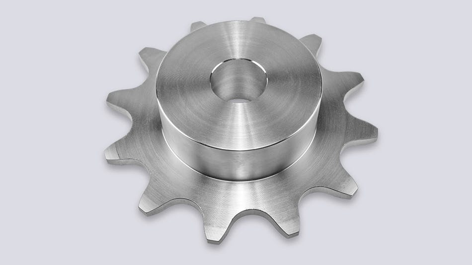 Sprockets for hollow pin chains type 01650