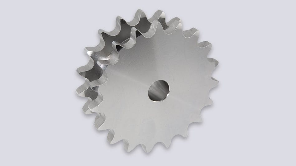 Sprockets for accumulator chains
