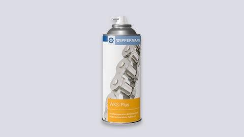 WKS-Plus: Hochtemperatur-Kettenspray für die Nachschmierung